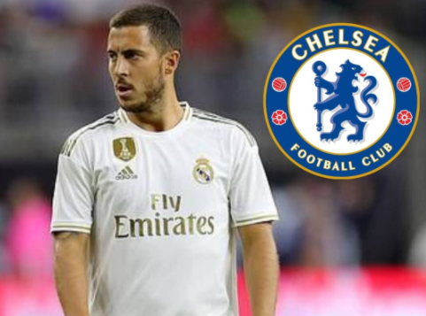 Let's go home! Chelsea are considering a return to Hazard